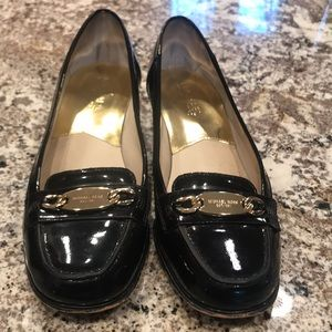 Michael Kors Blacken Patten Leather Shoes